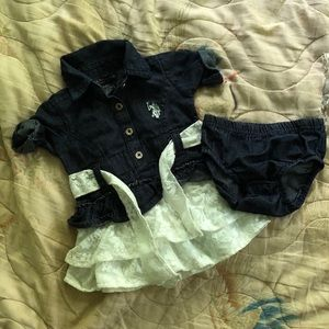 Polo Dress Set